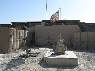 British Forces casualties in Afghanistan since 2001 - Memorial at FOB Delhi