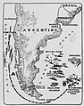 British and German Naval engagements off the coasts of South America.jpg