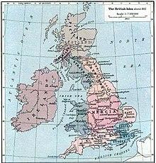 Королевства британии вессекс