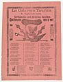 Broadsheet relating to the bullfighting calavera who has arrived at full speed, screaming with much energy MET DP869173.jpg