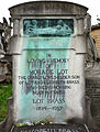Brompton Cemetery - Lot Brass Family.jpg