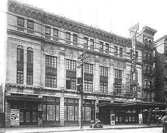 Bronx Opera House - Bronx Opera House in March 1914