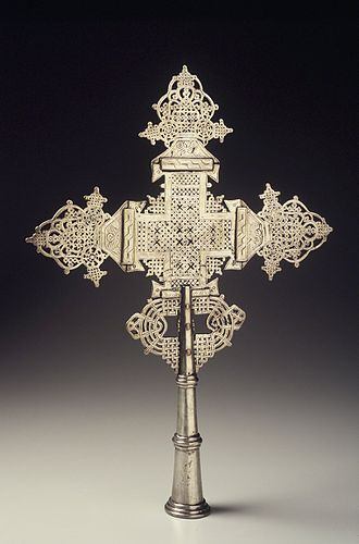 Coptic cross - Image: Brooklyn Museum 2000.123.1 Processional Cross