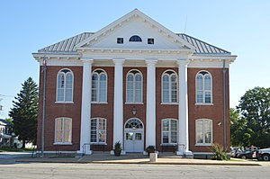Brown County Courthouse in Mount Sterling
