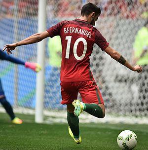 Bruno Fernandes (footballer, born 1994) - Fernandes at the 2016 Olympics