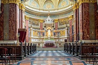 St. Stephen's Basilica - Image: Budapest, St. Stephen's Basilica C13