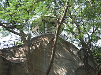 Bugle Rock - The watch tower on the Bugle rock built by Kempegowda II