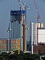 Building construction at Tottenham Hale, Haringey 7.jpg