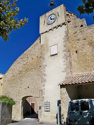 Buisson, Vaucluse - The belfry of Buisson