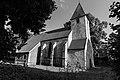 Buldern, Alte Kirche -- 2012 -- 7109 (bw).jpg