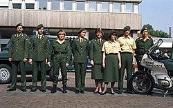 Bundesarchiv B 145 Bild-F075997-0011, Bonn, BMI, Uniformen Bundesgrenzschutz.jpg