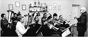 Bundesarchiv Bild 183-1989-0410-300, Kaarßen, Blasorchester der Gemeinde