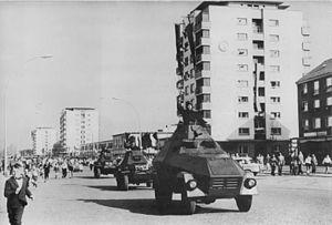 Garant 30k SK-1 - SK-1 on Parade in Stalinstadt (Eisenhüttenstadt)