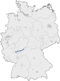 Where Is The Autobahn In Germany Map.Bundesautobahn 66 Wikipedia