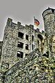 Burg Greifenstein, Nordfassade des neuen Baus (8511992151).jpg