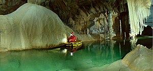 Boštjan Burger - Burger's subterranean photography of Cross Cave, 2000