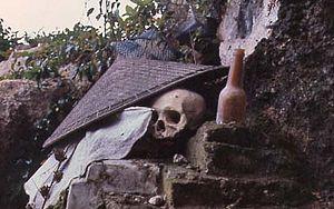Toraja burial site. Toraja is an ethnic group ...