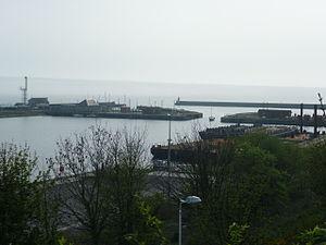 Burntisland - Burntisland Docks, 2011
