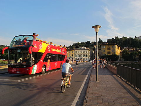 Florence sightseeing bus