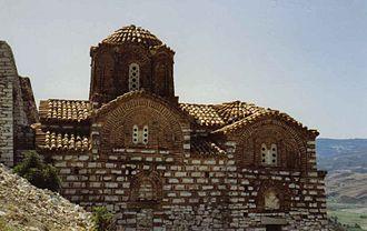 Christianity in Albania - Byzantine Orthodox Church in Berat.