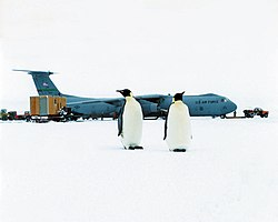 C-141 Starlifter with penguins.jpg