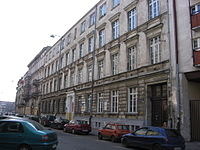 C.J.Ch.Zimmermann photo Former St. John's Secondary School in Wroclaw north façade 2.JPG