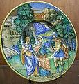 C.sf., urbino, cerchia di nicola da urbino, piatto con didone e enea, 1530-1540 circa.JPG