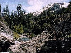 Rubicon River (California) - Rubicon River above Hell Hole Reservoir