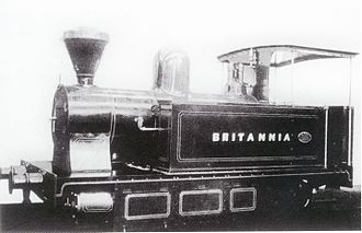1905 in South Africa - Namaqualand 0-4-2T ''Britannia''