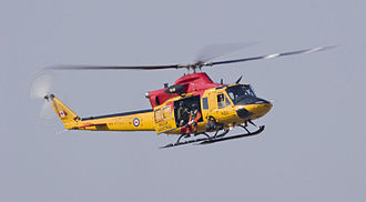 Bell CH-146 Griffon - CH-146 Griffon in SAR markings