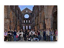 Un'escursione di Soci CICAP all'Abbazia di San Galgano in occasione del XII Convegno nazionale a Volterra, 5-7 ottobre 2012