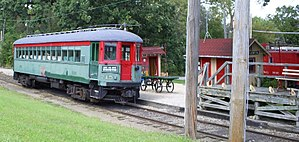 Fox River Trolley Museum - Image: CNS&M715 @FRTM