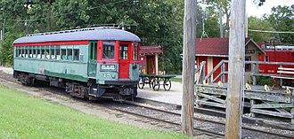 Fox River Trolley Museum - Image: CNS&M715 @FRTM