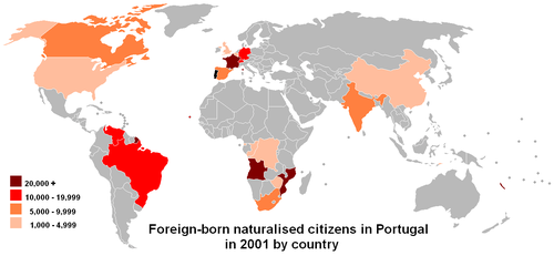 Demographics Of Portugal Wikipedia - Where is portugal in the world