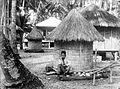 COLLECTIE TROPENMUSEUM Rijstschuur te Si. Henèng aan de weg van Padang Sidempoean naar Moeara Sipong Tapanoeli TMnr 10011161.jpg