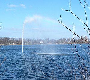 Jacqueline Kennedy Onassis Reservoir - Fountain