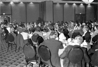 Committee for Skeptical Inquiry - The Banquet at the 1983 CSICOP Conference in Buffalo, NY