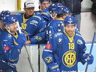 Inti Pestoni Swiss ice hockey player
