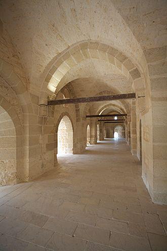 Citadel of Qaitbay - Hallway in Citadel of Qaitbay