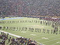 Cal Band performing pregame at 2008 Big Game 11.JPG
