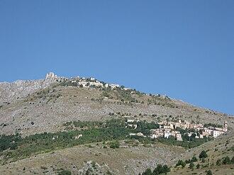 Calascio - Image: Calascio e la Rocca