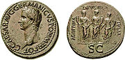 Caligula sestertius RIC 33 680999