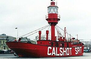 Ocean Village, Southampton - Calshot Spit Lightship