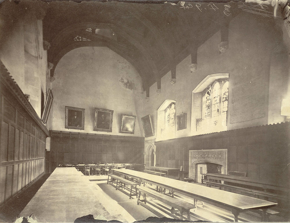 File cambridge peterhouse dining hall interior before for House dining hall images
