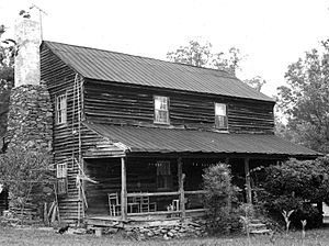 National Register of Historic Places listings in Iredell County, North Carolina - Image: Campbell Mill House edited 1