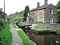 Canal Lock in Dobcross Saddleworth - geograph.org.uk - 251707.jpg