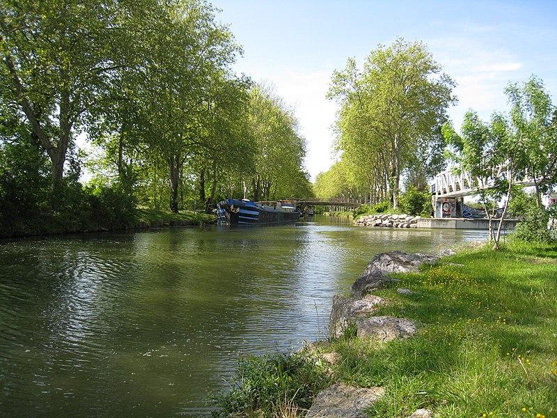 Canal du Midi - Parc Technologique - Ramonville St Agne