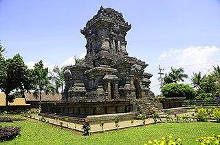 Monolithic site in Indonesia