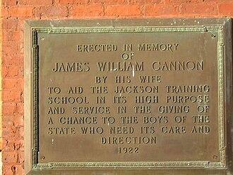 Stonewall Jackson Youth Development Center - Image: Cannon House sign