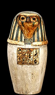 Qebehsenuef Egyptian deity